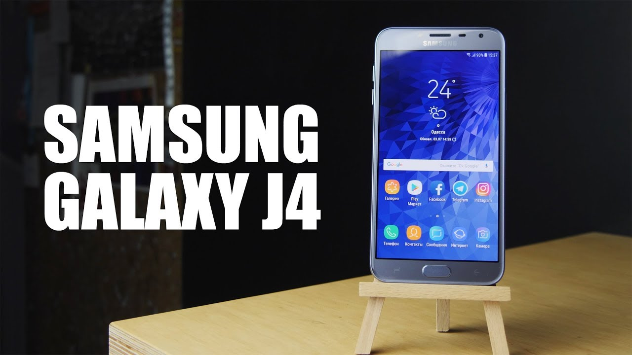 Samsung Galaxy J4 2018 J400F 2/16Gb Lavenda (SM-J400FZVDSEK) video preview