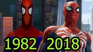 Эволюция игр про Человека Паука 1982-2018