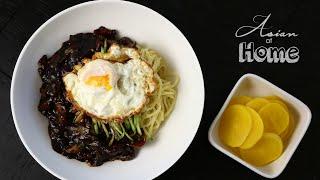 Jjajangmeyon Korean Black Bean Noodles