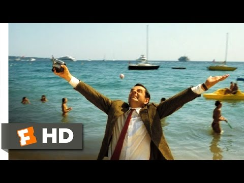 Mr. Bean's Holiday (10/10) Movie CLIP - Bean at the Beach (2007) HD