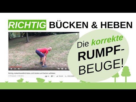 Rückenschmerzen beim Laufen