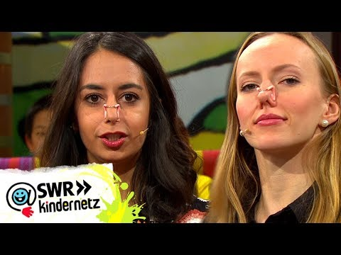 Synchronschwimmen mit Nasenklammern, Lächeln und Gelatine | Tigerenten Club | SWR Kindernetz