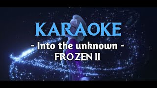Into the unknown (From: Frozen 2) | Karaoke - With siren voice