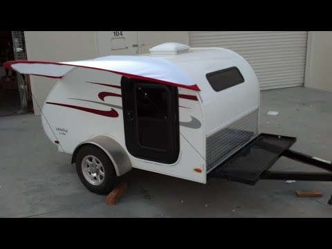 How to install your outside kitchen to your Little Guy trailer