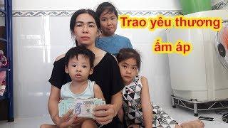 Phần 3 | Trao hỗ trợ giúp mẹ đơn thân nuôi 3 con cùng quẫn vượt qua ngịch cảnh để làm ăn - Guufood