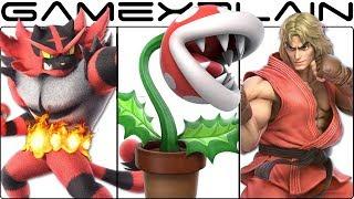 Super Smash Bros. Ultimate - Ken, Incineroar, & Piranha Plant Character Trailers