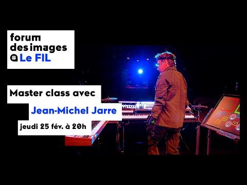 Master class avec Jean-Michel Jarre