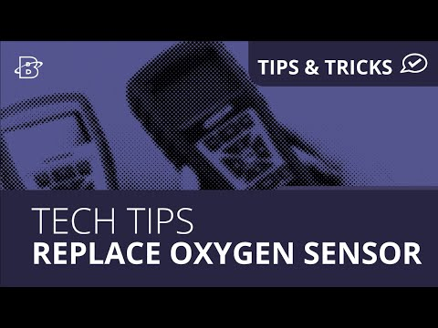 Tech Tips | How to Replace Oxygen Sensor for InTech & Insight Plus