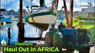 Persiapan Perahu Layar Persiapan: 1 Big Boat, 1 TINY Lift, 6 Tetangga CHEEKY! Patrick Childress # 39