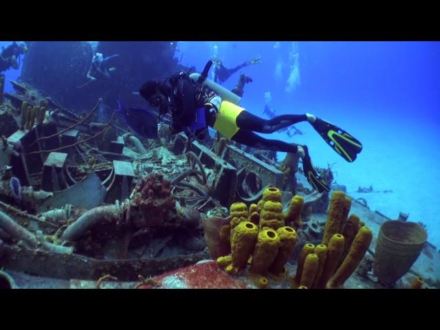 Cayman Brac Russian Frigate 356   March 14, 2017 Dive Reef Divers
