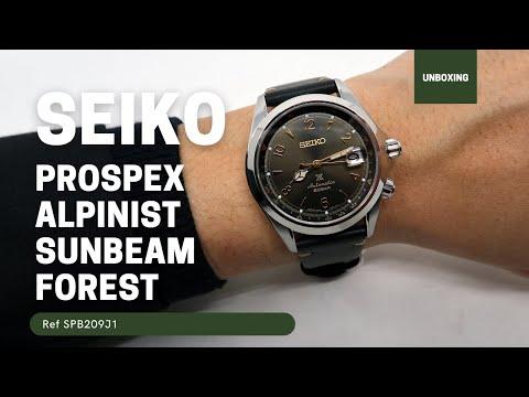 SEIKO PROSPEX ALPINIST AUTOMATIC WATCH IN GREEN SPB209J1