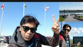 Canada to USA on foot| American Side Niagara Falls