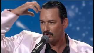 Thomas Crane (Freddie Mercury) Australia's Got Talent 2011 Audition
