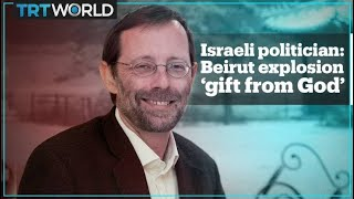 Former Member Of Israels Knesset Calls Beirut Blast A Gift From God