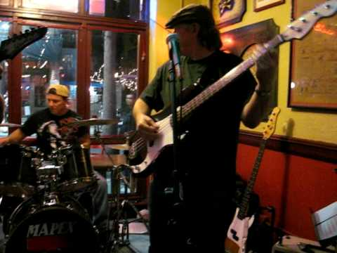 Pride and Joy -- I'm always taking the video!  with Moon Man on bass!