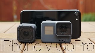 GoPro Hero 5 Vs iPhone 7