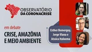 #AOVIVO | Crise, Amazônia e o meio ambiente | Observatório da Coronacrise