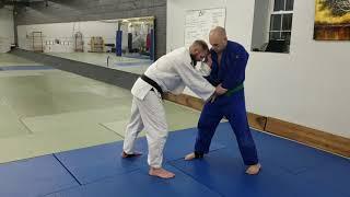 Judo Seoi-Nage Setup from Left v. Right