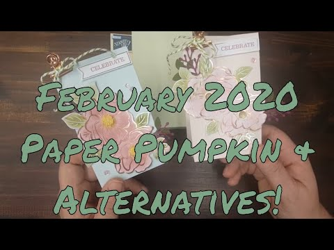 February 2020 Lovely Day Paper Pumpkin Kit and Alternative Projects