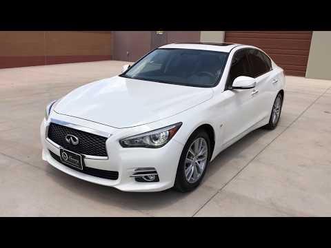 Pre-Owned 2015 INFINITI Q50 Premium RWD Sedan