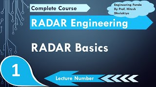 RADAR Basics, Working & Applications (RADAR Engineering, Microwave Engineering) By Engineering Funda