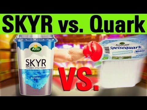 Skyr vs. Quark - beste Eiweißquelle?