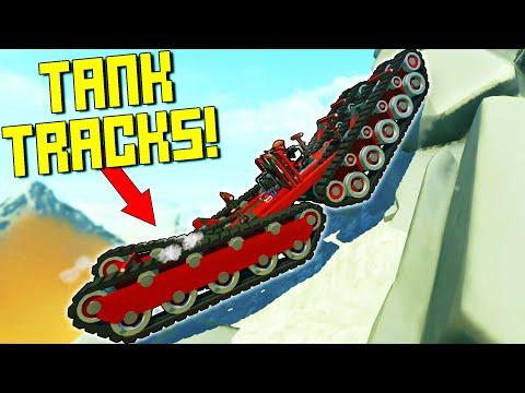 NEW Tank Tracks Mod Is Actually Pretty Legit!  - Scrap Mechanic Multiplayer