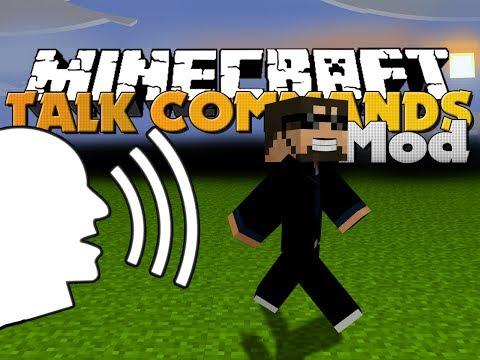 Minecraft Mod - Harken Mod - VOICE COMMANDS
