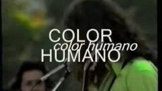 color humano hombre de las cumbres