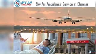 Commercial Stretcher Available in Sky Air Ambulance in Mumbai