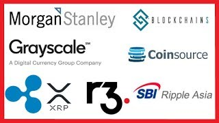Morgan Stanley Crypto Institutional Asset Class - Blockchains LLC - Grayscale - Ripple XRP R3 SBI