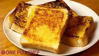 Sizzler's ICONIC Cheesy Bread | One Pot Chef