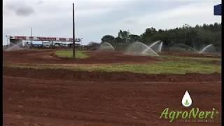 Irrigação em pista de velocross e motocross