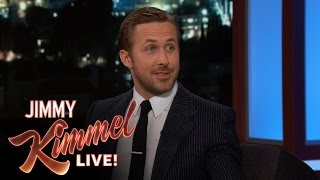 <b>Ryan Gosling </b>on Being Immortalized At Chinese Theatre
