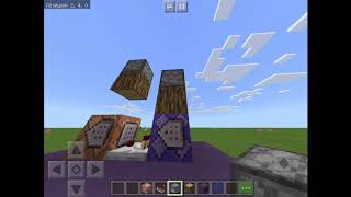 Как сделать свой собственный крафт в Minecraft PE|Команда