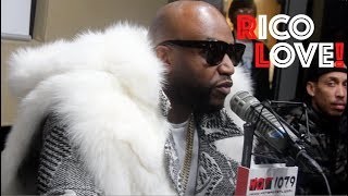 Rico Love: Even Kings Die, Working With The City Girls  Usher, Drops Knowledge