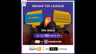 MUMBAI INDIANS vs CHENNAI SUPER KINGS | VIVO IPL 2019 | Playin XI
