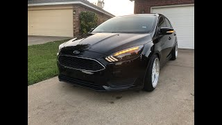 How to install new Headlights and Tail lights on your 2015-2018 Ford Focus!