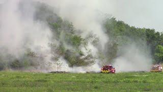 Deer Creek Grass/Hay Bale Fire 192nd & Meridian 5/2/20