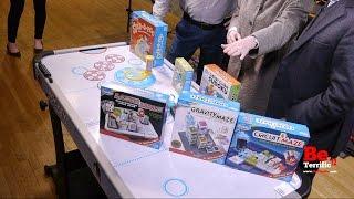 Thinkfun at Toy Fair 2017 on BeTerrific!! Spin-a-roo! Fidgitz! Color Cube Sudoku!