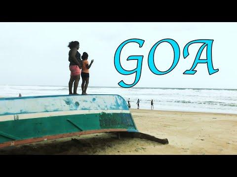 Gorgeous Goa Part 1- Ilisha's Fun Filled Goa Beach Vlog, Goa Tourism, Goa Beach Fun