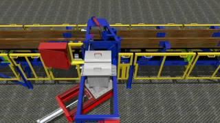 Animación 3D Correa Transportadora