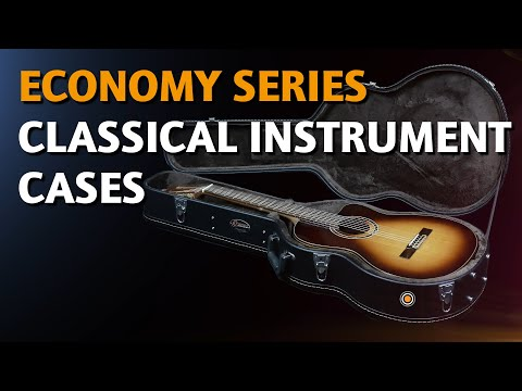 ORTEGA GUITARS | CLASSICAL INSTRUMENT CASE (ECONOMY SERIES)
