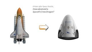 SpaceX Crew Dragon, how will it take over the Space Shuttle?