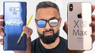 Apple iPhone XS Max vs Samsung Galaxy Note9