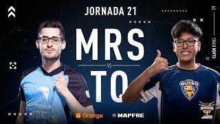 Movistar Riders VS Team Queso | Jornada 21 | Temporada 2018-2019