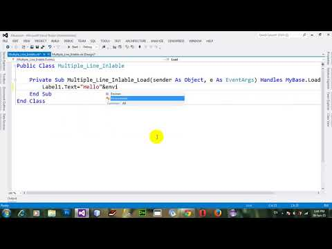 VB NET - Display Label Text Letter By Letter Using Timer In Visual