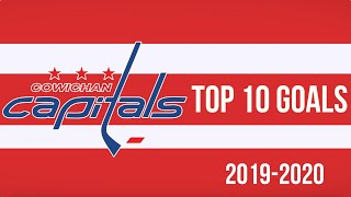Top 10 Cowichan Valley Capitals Goals of 2019-20