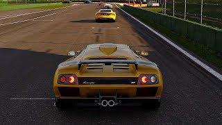 Gran Turismo Sport - Gameplay Lamborghini Diablo GT @ Lago Maggiore [4K 60FPS]