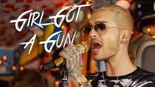 TOKIO HOTEL - 'Girl Got a Gun' (Live in Los Angeles, CA) #JAMINTHEVAN